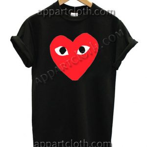 Buy Tshirt Heart with eyes T Shirt Size S,M,L,XL,2XL