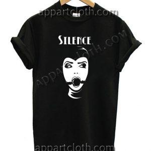 Silence T Shirt Size S,M,L,XL,2XL