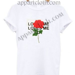 love me love me not roses Funny Shirts For Guys Size S,M,L,XL,2XL
