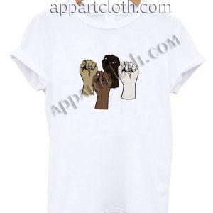 Black lives matter hands Funny Shirts