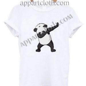 Dabbing Panda Funny Shirts