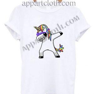 Dabbing Unicorn Funny Shirts