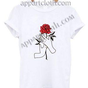Hand Rose Funny Shirts
