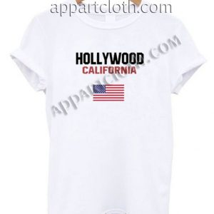 Hollywood California Funny Shirts