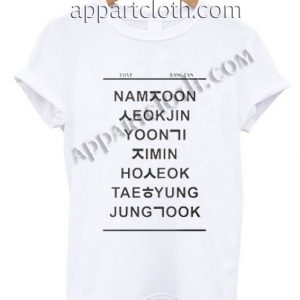 Love bangtan Funny Shirts
