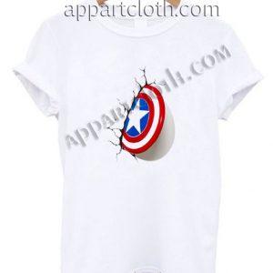 Shield captain america Funny Shirts