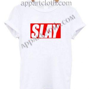 Slay Alone Funny Shirts Size S,M,L,XL,2XL