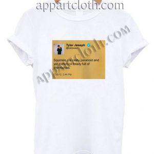 Tyler Joseph Tweet Funny Shirts