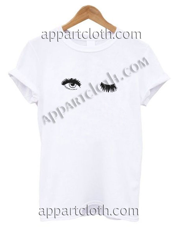 Wink Eyes Funny Shirts