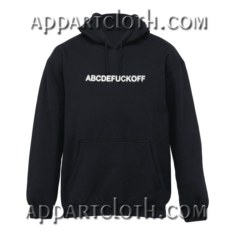 AbcdeFuck off Hoodie