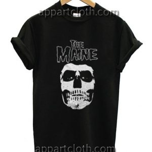 The Maine Headskull Funny Shirts