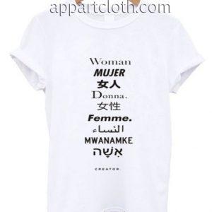 Woman Mujer Funny Shirts