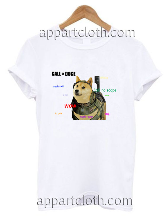 Call Of Doge Funny Shirts