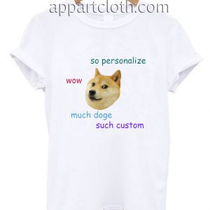 Doge Personalized Funny Shirts