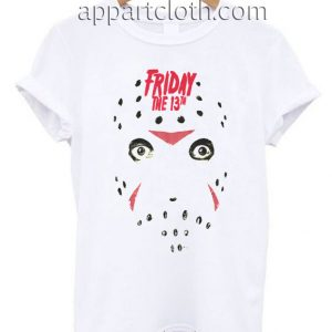 Friday the 13th Headshot Funny Shirts