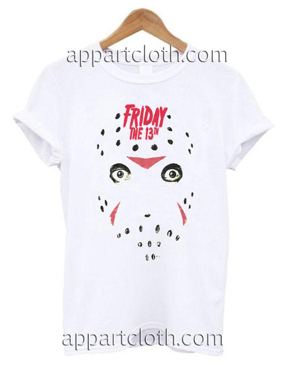 Friday the 13th Headshot Funny Shirts