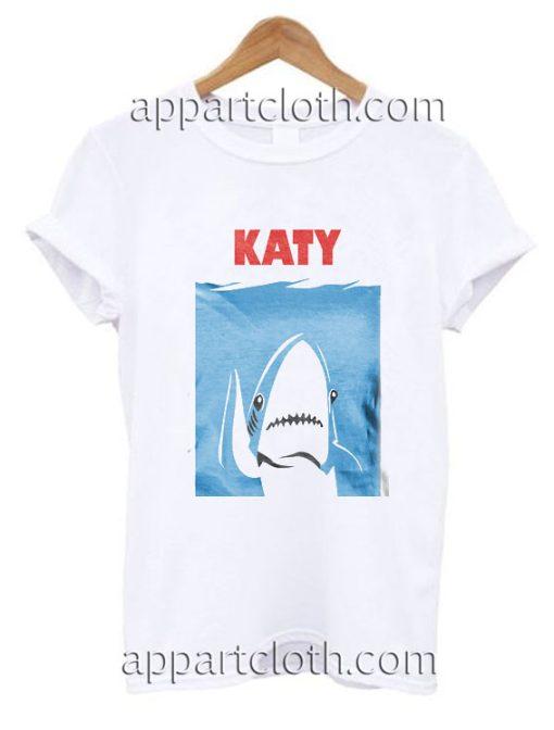 Katy Perry's Shark Funny Shirts