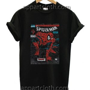 Spiderman Comic Book Funny Shirts