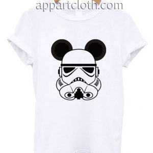 Storm Trooper Mickey Ears Funny Shirts