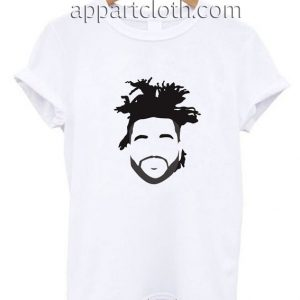 The Weeknd Stencil Hairstyle Funny Shirts