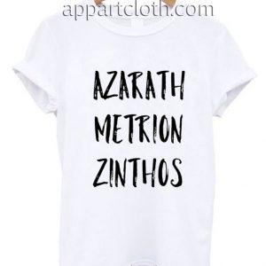 Azarath Metrion Zinthos Funny Shirts