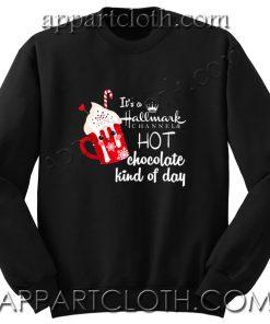 It's a Hallmark christmas Unisex Sweatshirts