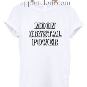 Moon Crystal Power Funny Shirts