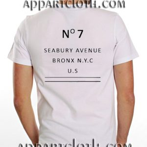 No7 Seabury Avenue Funny Shirts