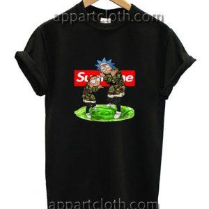 Rick and Morty Supreme Funny Shirts