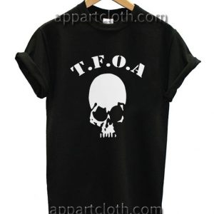 The Front of Armament Skul Funny Shirts