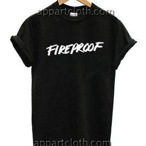 Troye Sivan Fireproof Funny Shirts
