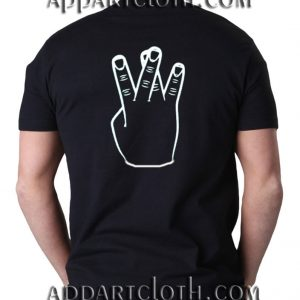Westside crossed fingers Funny Shirts