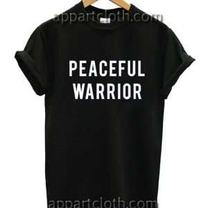Yoga Peaceful Warrior Funny Shirts