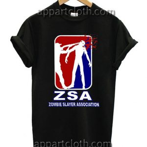 ZSA Zombie Slayer Funny Shirts