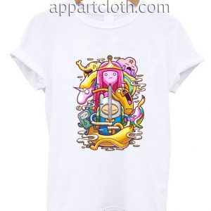 Adventure Time Finn and Jake Princess Funny Shirts