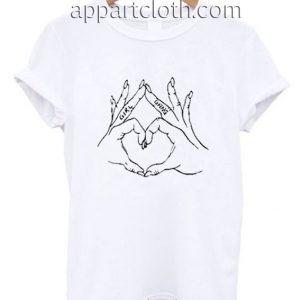 Girl Gang Love Hand Funny Shirts
