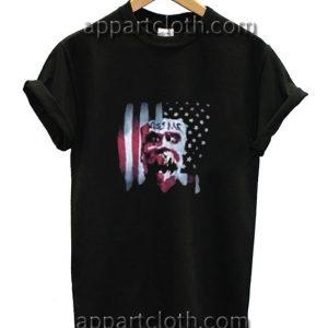 Kiss Me USA Flag Funny Shirts