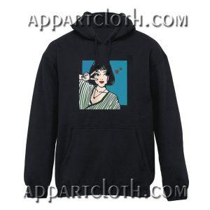 Peace Anime Girl Hoodie