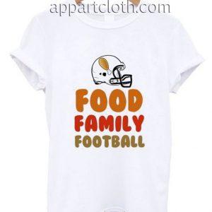 FOOD FAMILY FOOTBALL Funny Shirts