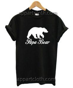 Gift For Dad Papa Bear Funny Shirts