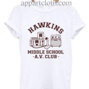 Hawkins AV Club Funny Shirts