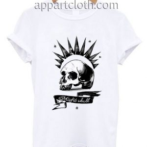 Misfit Skull Funny Shirts