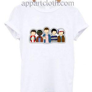 Stranger Things Character Funny Shirts