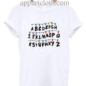 Stranger things abc wall Funny Shirts