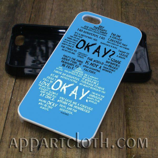 John Green Quote phone case iphone case, samsung case