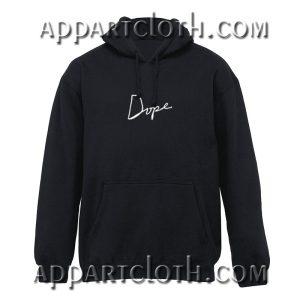 Dope Black Hoodie
