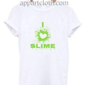 I Love Slime Funny Shirts