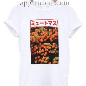Japanese Flower Funny Shirts