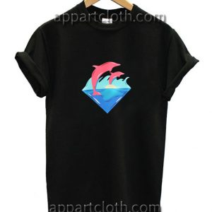 Pink Dolphin Funny Shirts