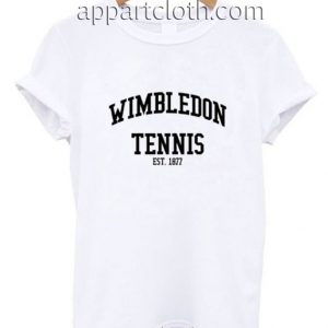 Wimbledon Tennis Est.1877 Funny Shirts